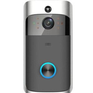 מצלמת אבטחה לדלת כניסה, אלחוטית